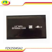 Black 2.5 Inch SATA HDD Case 1tb 2tb USB2.0 HDD Enclosure