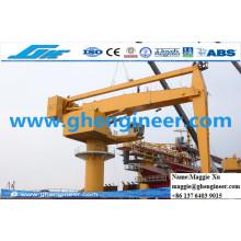 700tph Machine de manutention de laitier à charbon à charbon Hydraulic E Crane