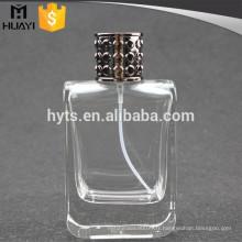 Bouteille en verre vernis vide parfum 100ml
