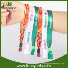 Umweltfreundliche Modegewebe Freundschaft Armbänder / Kunden Logo Wristband