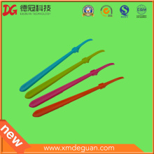 Colorful Reusable Plastic Dental Floss Stick for Child