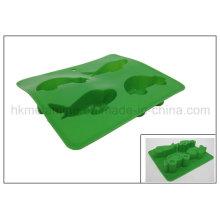 Moules de gâteau de silicone en forme de voiture (RS16)