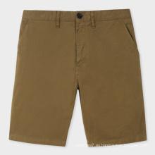 Pantalones cortos chinos del algodón del algodón de los hombres al por mayor calientes de la venta 2017 del verano
