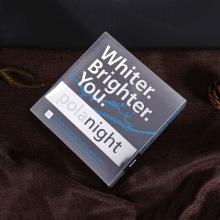 Серебряный горячий штемпелевать пластичной коробки PVC складывая с вашего бренда (подарок мешок)