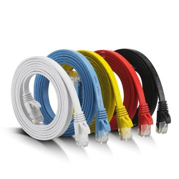 Cable de conexión Ethernet RJ45 Flat Cat6 SFTP