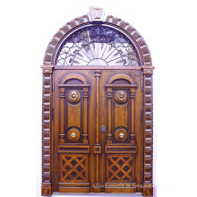Novo design de alta qualidade Maranti porta de madeira