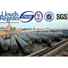 ISO9001 / BV certificó las bolsas de aire de goma marinas para la elevación pesada