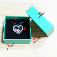 Personalizado impressão caixa de embalagem de impressão para encantos Colar Lockets (LPB50807)