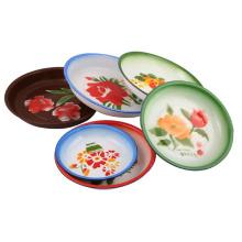 Plaque émaillée / plat de riz 14-26cm