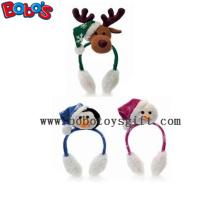 Fashion Design Plush Animal Xmas Ear Muff Be Christmas Decorate