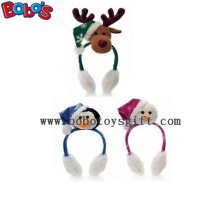 Moda design pelúcia animal xmas orelha muff ser natal decorar