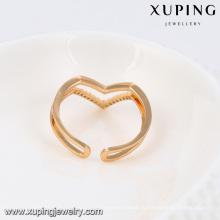 13788 - Xuping Ювелирных Изделий Двойного Новой Манжеты Палец Кольца