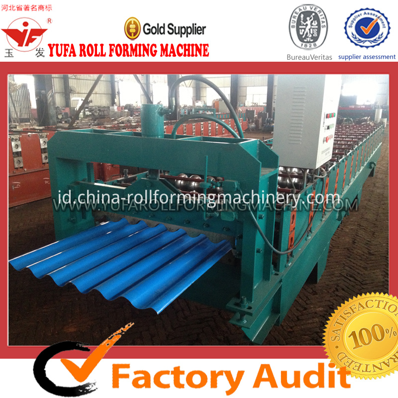 780 corrugated tile rolling machine