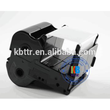 Nameplate printer ribbon cartridge silver ribbon 60mm*130m PP-RC3GLF for PP-1080RE printer
