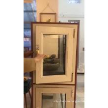 Дом алюминиевые окна высокого качества створки окна открывания внутрь