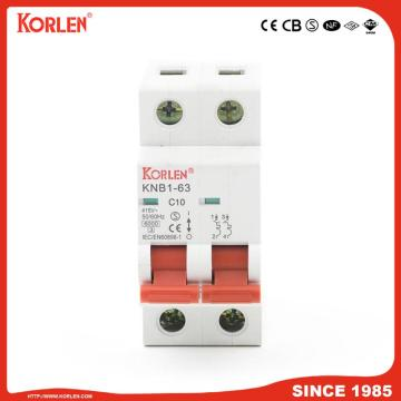 6ka Mini Circuit Breaker με SEMKO KNB1-63 3P