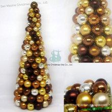 Arbre décoratif de Noël de 16 po