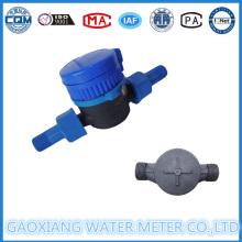 Medidores de vazão de água Single Jet tipo seco Dn15-Dn25