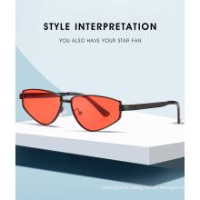 Newest 2020 Retro Tiny Frame Metal Sunglasses