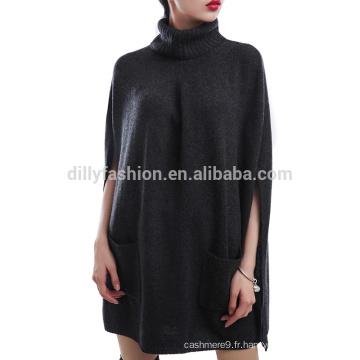 Laine Cachemire tricot Mesdames nouvelle cape robe femmes robe de soirée cape