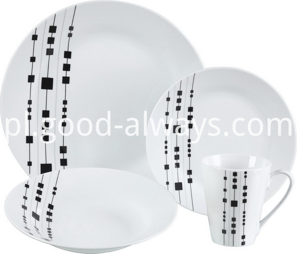 Porcelain dinne set 16 pcs