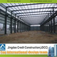 Fabrication préfabriquée d'entrepôts en acier et assemblage Jdcc1035