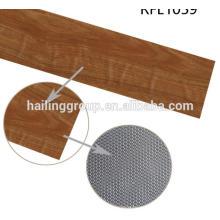 Asequible fácil clidk venta tejida retro suelta pvc suelo de vinilo