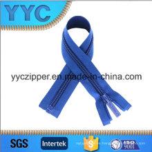 Yyc 5 # cremallera de nylon con el extremo abierto para la ropa de los niños