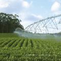solar powered center pivot irrigation system with pump