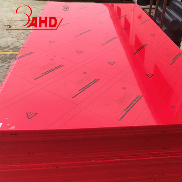 100% Virgin Red HDPE-platenplaten