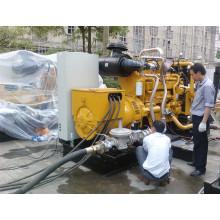 Комплект генератора 350kva природного газа CUMMINS генератор Двигатель установить