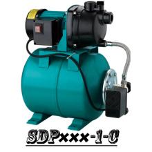 (SDP800-1-C) Gartenpumpe-Booster-System Stahl Tank