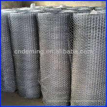 PVC revestido / galvanizado Hexagonal Wire Mesh / rede de arame hexagonal