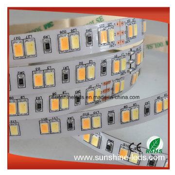 2016 de venta caliente SMD5630 de doble color CCT LED ajustable LED