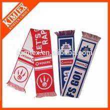 Jacquard acrylic woven scarf