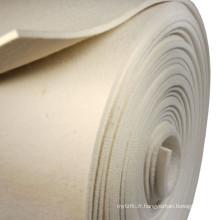 Non-tissé NOMEX feutre filtre à poussière de tissu filtrant