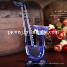 Нежный Кристалл стекла саксофон модель музыкальный инструмент для домашнего украшения & подарки Co-M008