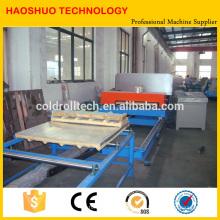 Cadena de producción del panel de bocadillo de la PU, cadena de producción del panel de la PU y del panel de pared