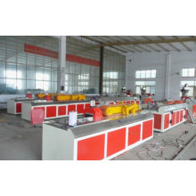 Extrusora plástica de madeira plástica do perfil da máquina da extrusão do perfil da máquina de WPC / WPC