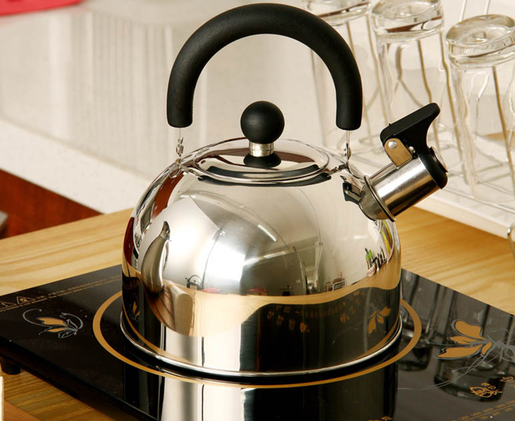 stainless steel whistle teakettle