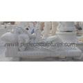Escultura de mármore de pedra esculpida estátua de granito para decoração de jardim (SY-X1524)