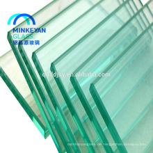 8mm 10mm 12mm klar Aluminium Schiebetüren aus gehärtetem Glas