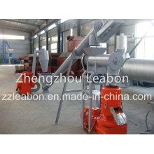 250-300kg / H Ligne de fabrication de pellets de riz mobile