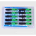 10PCS / pack Ftth conector de fibra óptica SC / UPC APC coberto conector de fibra ótica rápido, conector SC / APC rápido