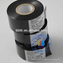 SCF900 Черная фольга с лентой даты и даты для печати номера партии с истекшим сроком годности