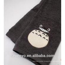 Dark cute smile Totoro hand towel HT-067