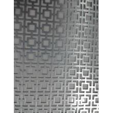 Perforierte Metallplatte für dekorative