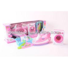 BO Brinquedos Cabides Roupas Box Lavadora Toy Toy Ferro