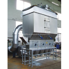 Máquina de secagem de cama fluídica horizontal / secador de cama Xf para matérias-primas granuladas