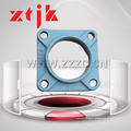Forme carrée en acier inoxydable 4 alésages portant le bloc